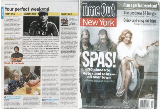 Enrico in Time Out NY